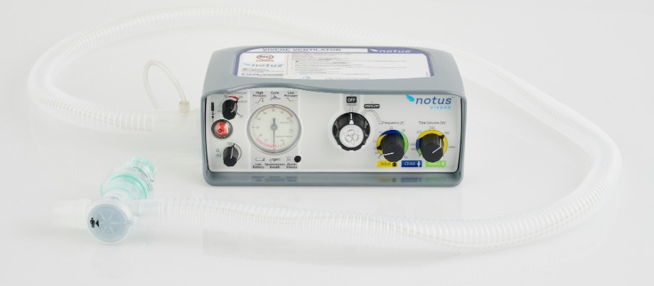 NOTUS Vivere is an emergency ventilator built in response to the national fight again COVID-19